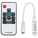 Контроллер-мини для светодиодной ленты RGB 12v 72w с радиопультом Ecola
