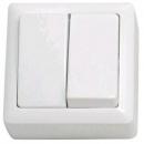 Выключатель 2-клавишный белый Schneider Electric