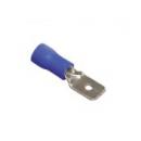 Разъем-штекер 2-5-0,8 плоский (папа)