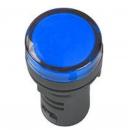 Лампа сигнальная AD22DS LED-матрица синяя 220v IEK