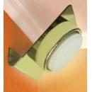 Светильник GX53-N82 угловой золото Ecola