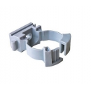 Клипса для трубы 16 мм с замком (нейлон)