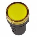 Лампа сигнальная AD22DS LED-матрица желтая 220v IEK