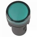 Лампа сигнальная AD22DS LED-матрица зеленая 220v IEK