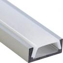 Алюминиевый профиль PAL1606 16x6 (длина 2м) с рассеивателем
