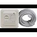 Терморегулятор теплого пола 16А белый