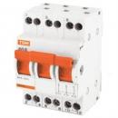 Модульный переключатель трехпозиционный МП-63 3п 40А TDM Electric